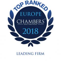 EQUITY отримала високі оцінки у рейтингу Chambers Europe 2018