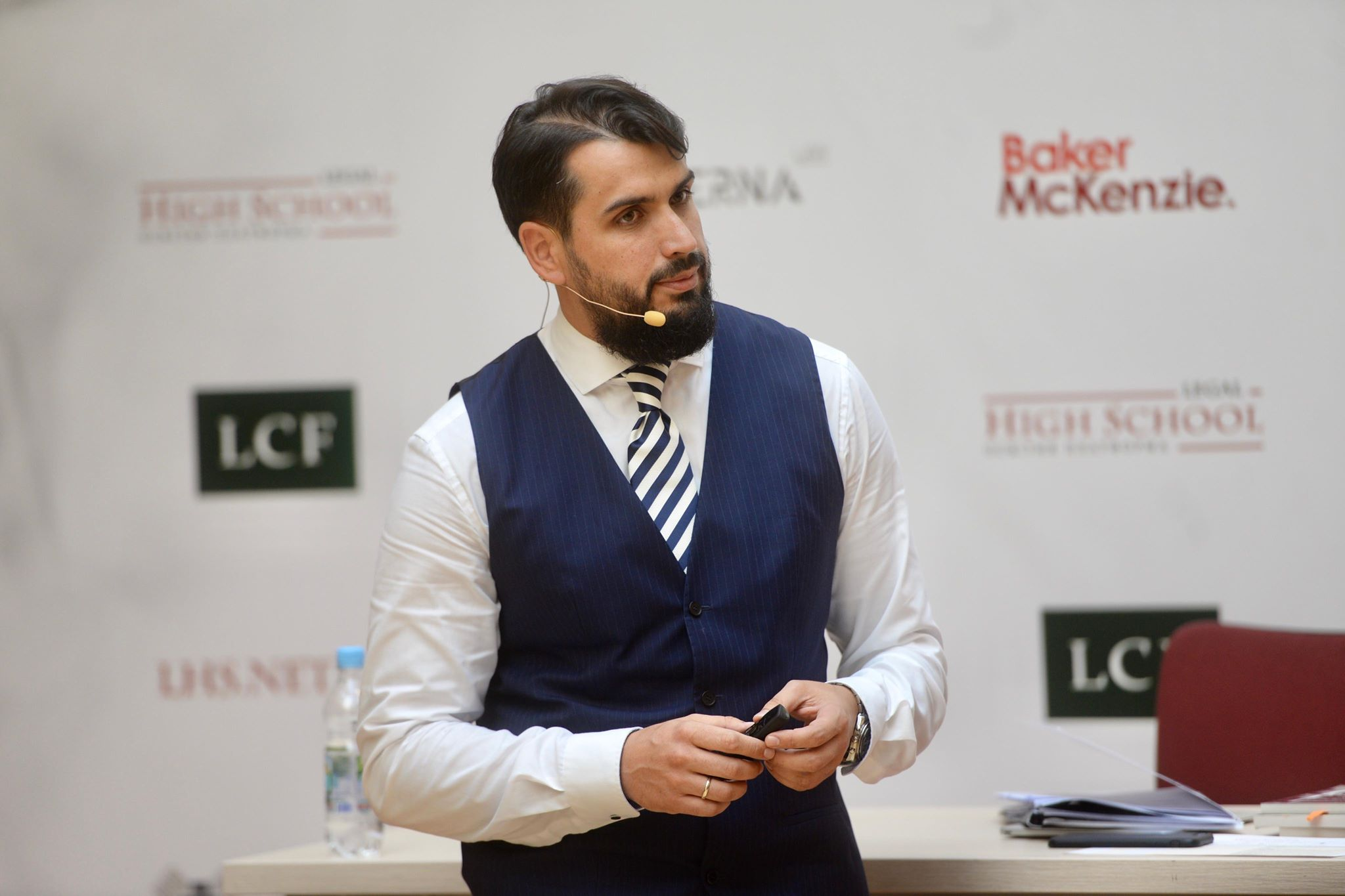 Олег Маліневський виступив перед слухачами спецкурсу «Новації в господарському процесі» від Legal High School