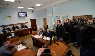 Було обрано безальтернативний запобіжний захід підозрюваному у справі щодо вбивства Василя Хмелюка