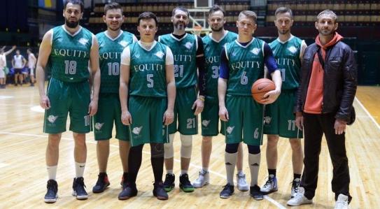 Команда EQUITY взяла участь у Турнірі по баскетболу серед юристів