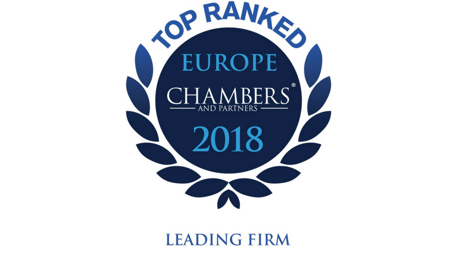 "<span class=""equity"">EQUITY</span> отримала високі оцінки у рейтингу Chambers Europe 2018"