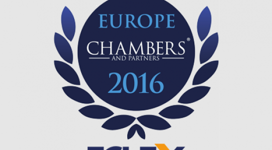 "Chambers Europe - 2016 mentioned <span class=""equity"">EQUITY</span> progress in key areas"