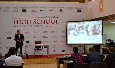 """<span class=""""equity"""">EQUITY</span> attorney analyzed the new Bankruptcy Code  at the Legal High School"""